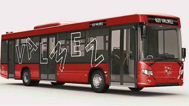 Vizualizace budoucí podoby autobusů MHD ve Valašském Meziříčí, kterou bude od 12. června 2022 zajišťovat společnost TQM - holding.