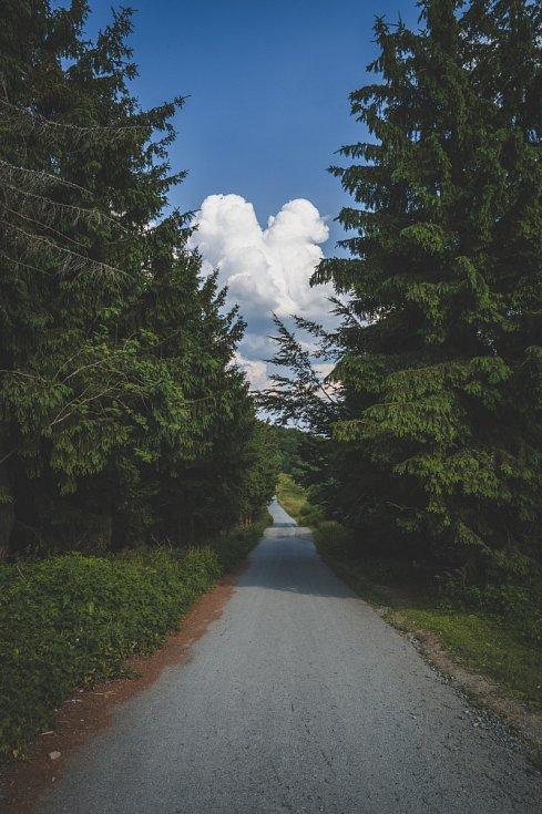 Cesta z Pusteven na Radhošť