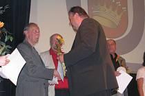 Zasloužilým členem Tělovýchovné jednoty se stal také Viliam Ševčík.