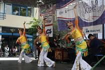 Vystoupil zde také folklorní soubor z Taiwanu