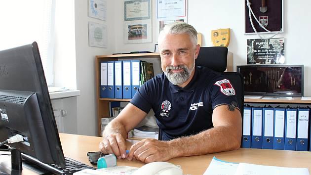 Ředitel Městské policie Rožnov pod Radhoštěm Aleš Pilař.