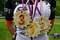 V Semetíně u Vsetíně se v neděli 20. června 2021 konal druhý ze čtyř závodů Valašského MTB poháru. Medaile pro nejlepší jezdce vyrobili klienti Sociálně terapeutické dílny VKCI Vsetín.
