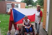 S bronzovou medailí se ve středu vrátila z Holandska Adéla Sekyrová z Krhové. Získala ji v úterý na mistrovství světa hendikepovaných juniorů v Stadskanaalu.