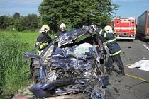 Tragická dopravní nehoda u Zašové.