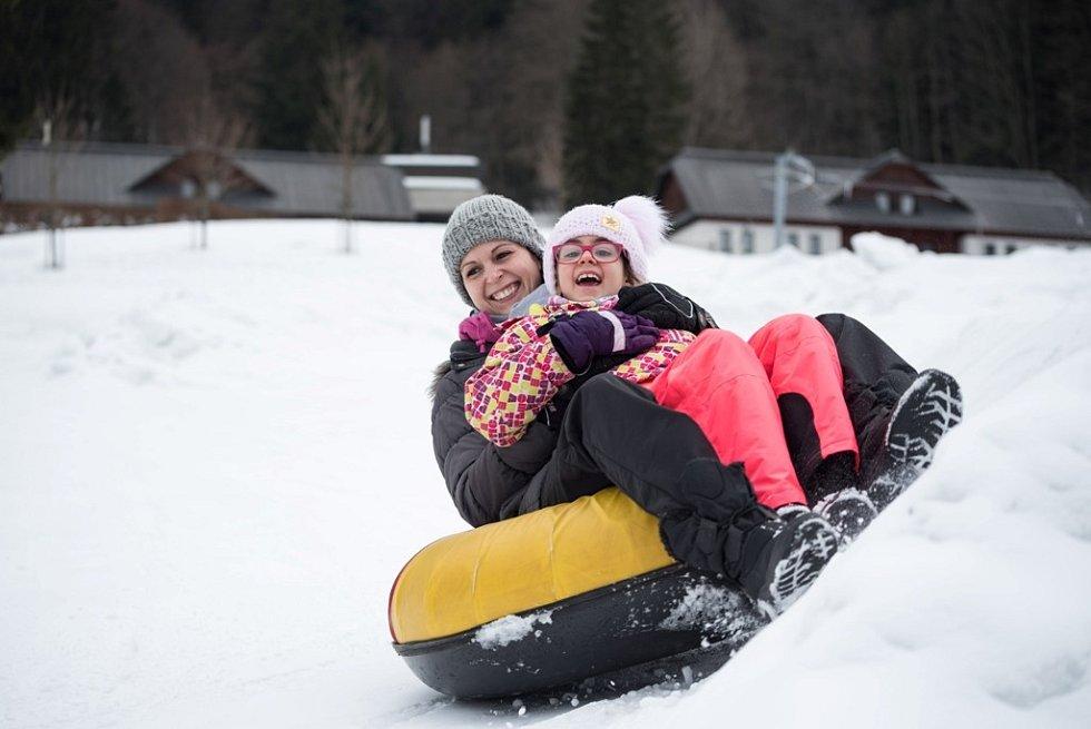 Snowtubing ve Velkých Karlovicích