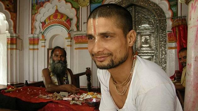 Brahman, který udílí požehnaní