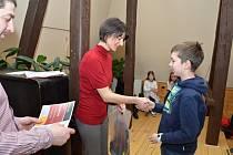Slavnostní ocenění vítězů okresního kola literární soutěže O poklad strýca Juráša se uskutečnilo ve středu 21. března 2018 v Městské knihovně Rožnov pod Radhoštěm.