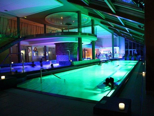 Saunová noc wellness hotelu Horal.
