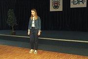 Pětadvacátý ročník soutěže Chrám i tvrz začal 13. dubna 2018 ve vsetínském kulturním domě první částí - soutěži v uměleckém přednesu. V kategorii nejstarších žáků recitovala také Alžběta Manová.