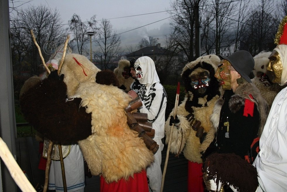 Čertovská družina ve Valašské Polance je na začátku
