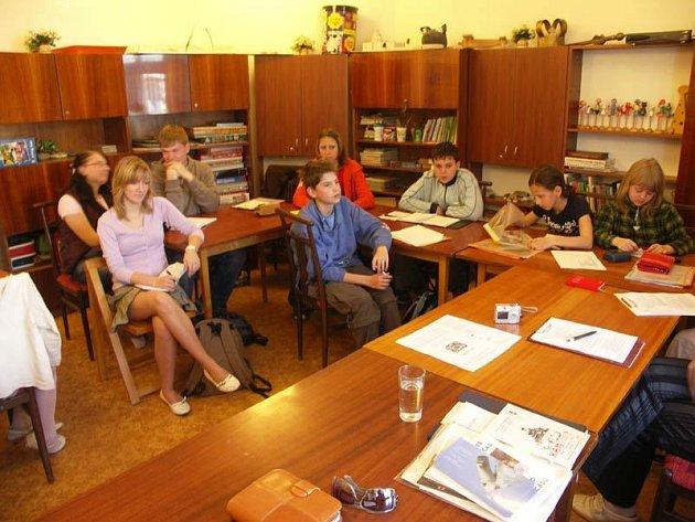 Školáci Rožnovského parlamentu