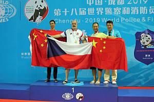 Na světových hrách World Police & Fire Games v srpnu 2019 v čínském Chengdu získal vsetínský Pavel Obr pět medailí.