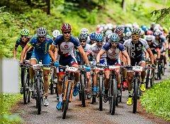Vsobotu se ve Velkých Karlovicích jede Bike Valachy, letos slehčí trasou. Ilustrační foto.