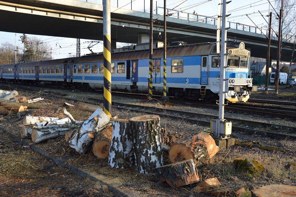 Příprava prací na výstavbua rekonstrukci železniční stanice a autobusového nádraží ve Vsetíně.