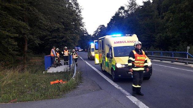 Tragická dopravní nehoda u Lidečka na Hornolidečsku