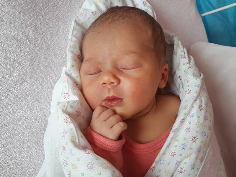 Eliška Pospěchová, Vidče, narozena 7. července 2021 ve Valašském Meziříčí, míra 49 cm, váha 3010 g