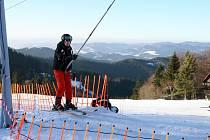 Horská střediska očekávají nápor víkendových lyžařů. Všechny vleky jsou nyní v provozu ve skiareálu Kohútka