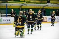 Hokejisté Vsetína ve 26. kole Chance ligy doma přehráli Porubu 4:1.