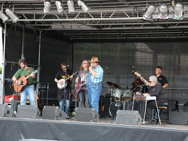 Kapela Michal Tučný revival. Ilustrační foto.