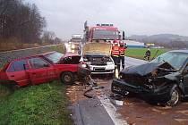 Nehoda u Zubří.