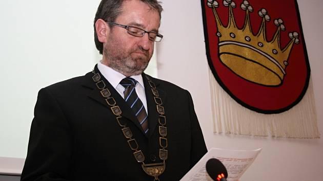 Starosta Valašského Meziříčí Robert Stržínek (ANO 2011).