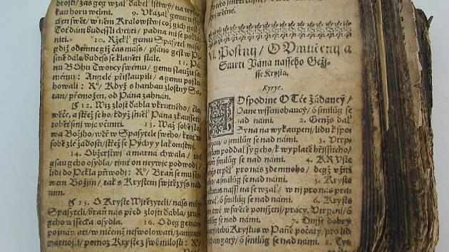 První vydání Třanovského Cithary sanctorum, vydané v Brewerově tiskárně v Levoči v r. 1636. V České republice se dochovaly do dnešní doby jen 2 exempláře tohoto kancionálu.