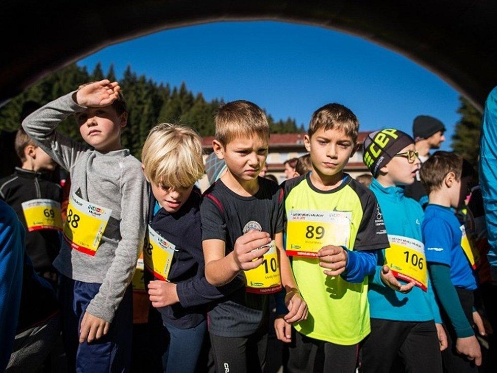 Běhej Valachy, dětský závod.