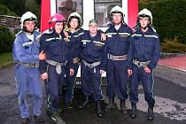 Sbor dobrovolných hasičů z Ústí.