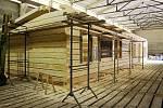 Obnova Libušína započala v březnu 2016 a potrvá do léta 2019. Měla by stát 80 milionů, z nichž jde desetina z veřejné sbírky. Nová stavba vzniká pod střechou ve 40 kilometrů vzdálené Bystřičce, odkud bude na Pustevny převezena. Zatím je hotová ze čtvrtiny