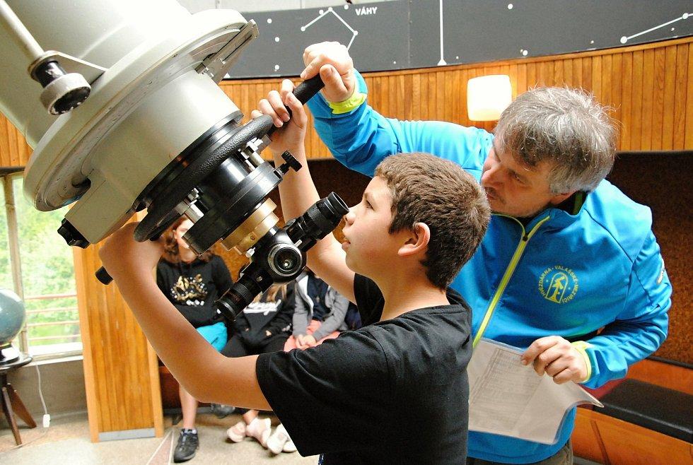 Hvězdárna ve Valašském Meziříčí obnovuje provoz od 11. května 2021.