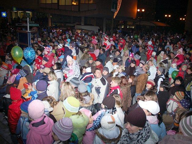 Silvestrovské oslavy ve Vsetíně a Valašském Meziříčí.