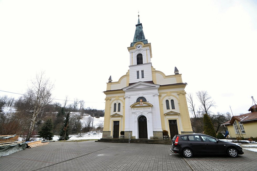 Kostel Českobratrské církve evangelické v Liptále.