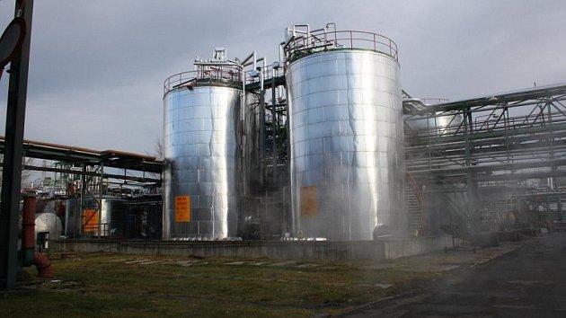 Chemička DEZA ve Valašském Meziříčí. Ilustrační foto.