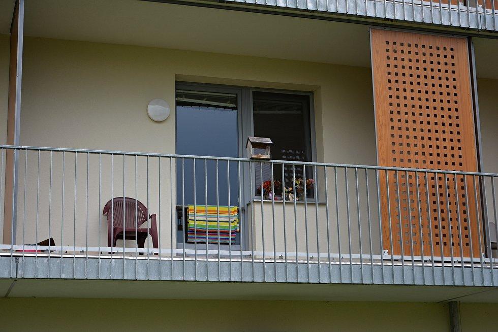 Domov pro seniory Jasenka v dubnu 2021 během pandemie covidu.