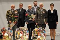 Setkání z pamětníky a partyzány u příležitosti 70. výročí osvobození města Vsetín spojené s udělením ocenění starosty města Vsetín