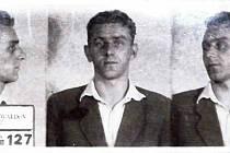 Alois Šimara z Lidečka. Člen protikomunistické odbojové organizace Světlana popravený 27. dubna 1951 v Uherském Hradišti.