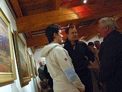 Výstava. Ilustrační foto