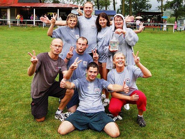 Vítězný tým Branek