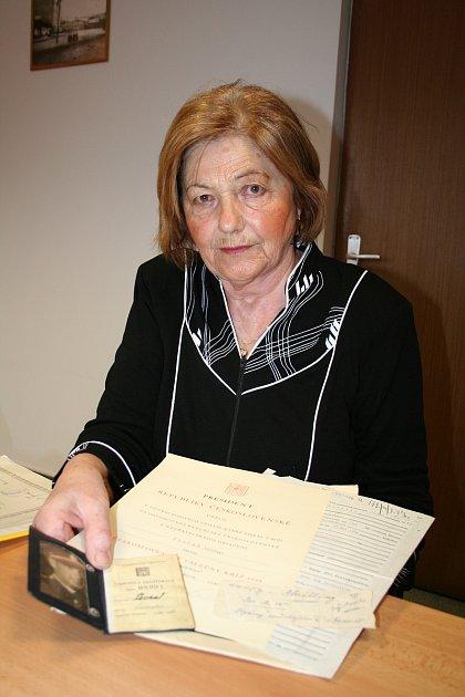 Cenu města Vsetína za rok 2017 obdrží Blanka Andělová. Valašská patriotka, která se celý život věnovala dobročinným aktivitám.