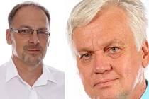 Zleva: Pavel Pustějovský (ANO), Jaroslav Dvořák (SPD)