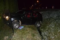 Sedmatřicetiletý cizinec havaroval v noci na úterý 4. dubna 2017 v opilosti ve Viganticích. Policisté mu naměřili 2,71 promile.