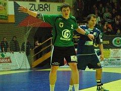 Petr Šlachta (v zeleném).