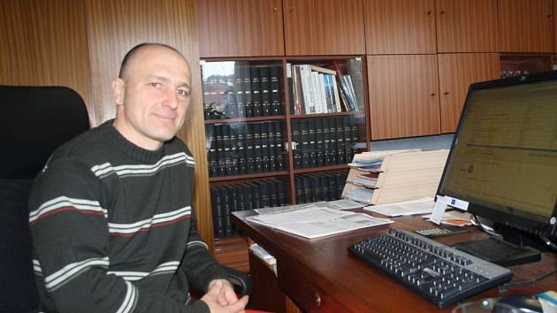 Starosta Jarcové Ivo Veselý stojí v čele obce dva roky.