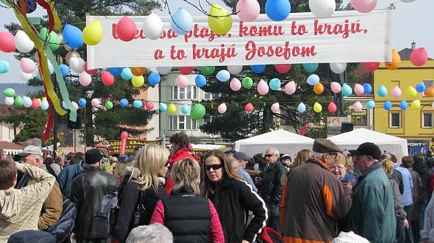 V Rožnově pod Radhoštěm se konal Josefovský jarmark.