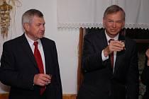 Americký velvyslanec Richard Graber navštívil ve čtvrtek 18. září 2008 Valašské muzeum v přírodě v Rožnově pod Radhoštěm