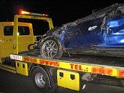 Dopravní nehoda u Valašského Meziříčí si vyžádala smrtelné zranění řidiče
