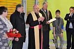 Biskup Mons. Josef Nuzík žehnal v úterý 11. února 2020 internímu oddělení Vsetínské nemocnice.