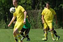 Vsetínská IV. třída: fotbalisté Kladerub (žluté dresy)