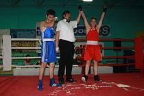Ve Vsetíně změřili své síly boxeři.