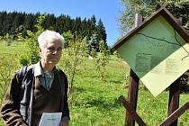 Doc. Ing. Ivan Musi, CSc.l stál u zrodu a budování prvního valašského arboreta v Semetíně u Vsetína